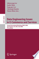 Data Engineering Issues in E Commerce and Services