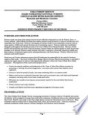 Idaho Panhandle National Forests (N.F), Coeur D'Alene River Ranger District Noxious Weed Control Project D; Draft Noxious Weeds EIS Proposed Treatment Sites Map B1