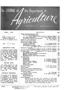 The Journal Of The Department Of Agriculture Victoria