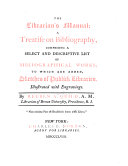 The Librarian s Manual