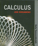 Calculus: Early Transcendentals (Paper)