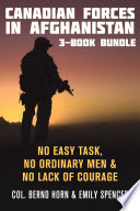 Canadian Forces in Afghanistan 3 Book Bundle