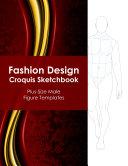 Fashion Design Croquis Sketchbook   Plus Size Male Figure Templates