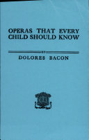 Operas Every Child Should Know