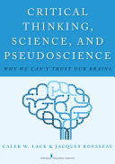 Pdf Critical Thinking, Science, and Pseudoscience Telecharger