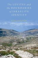The Levites and the Boundaries of Israelite Identity Pdf/ePub eBook