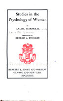 Studies in the Psychology of Woman Book PDF