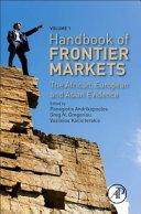 Handbook of Frontier Markets