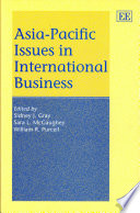 Asia Pacific Issues in International Business
