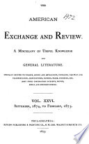 The American Exchange and Review
