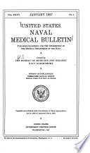 United States Naval Medical Bulletin for the Information of the Medical Department of the Navy ...