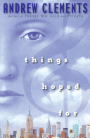 Things Hoped For Book