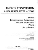 Energy Conversion and Resources