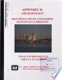 Providence River and Harbor Maintenance Dredging Project