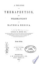 A Treatise On Therapeutics And Pharmacology Or Materia Media V 2 Book PDF