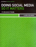 Doing Social Media So it Matters