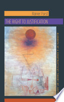 The Right to Justification  : Elements of a Constructivist Theory of Justice