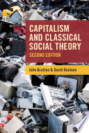Capitalism and Classical Social Theory  Second Edition