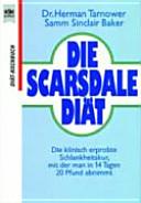Die Scarsdale-Diät