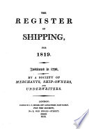 The Register of Shipping
