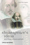 Pdf Shakespeare's Ideas