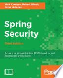 Spring Security Book