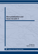 Recrystallization and Grain Growth V