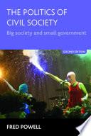 The politics of civil society  Second edition