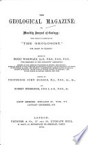 The Geological Magazine Or Monthly Journal of Geology