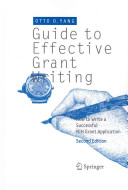 Guide to Effective Grant Writing Book