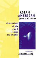Asian American Sexualities