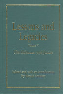 Lessons And Legacies The Holocaust And Justice