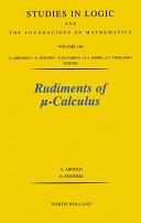 Rudiments of Calculus