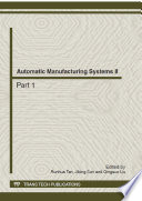 Automatic Manufacturing Systems II