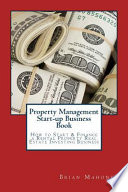 Property Management Start-up Business Book