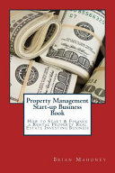 Property Management Start up Business Book