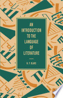 An Introduction To The Language Of Literature Book PDF