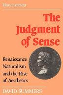 The Judgment of Sense