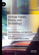 African Values  Ethics  and Technology