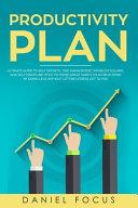Productivity Plan