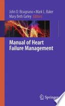 Manual of Heart Failure Management Book