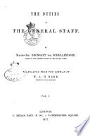 The Duties of the General Staff