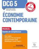 Pdf DCG 5 Economie contemporaine - Manuel - 2e éd. Telecharger
