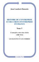 Pdf Histoire de l'entreprise et des chefs d'entreprise en France Telecharger