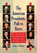 The American Presidents, Washington to Tyler