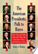 The American Presidents, Washington to Tyler