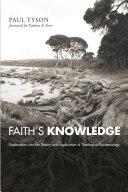 Faith s Knowledge