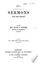 Sermons For The People 4 Nos