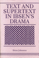 Text and Supertext in Ibsen's Drama [Pdf/ePub] eBook