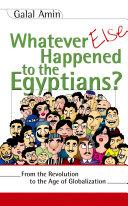 Whatever Else Happened to the Egyptians? Pdf/ePub eBook